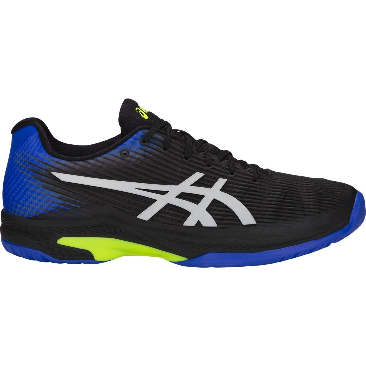 29c2d8803 Tênis Asics Gel Solution Speed FF Preto e Azul - SALLES TENIS & SQUASH