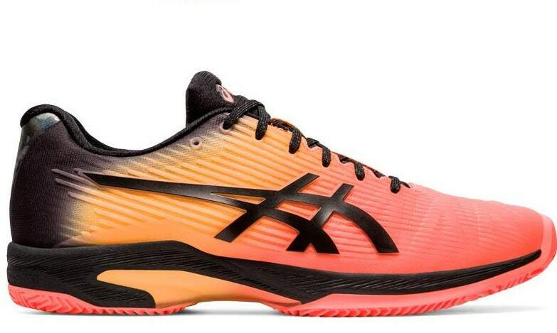 Tênis Asics Gel Solution Speed FF Clay L.E. Laranja e Preto