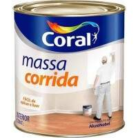 Massa Corrida 900ml - Coral