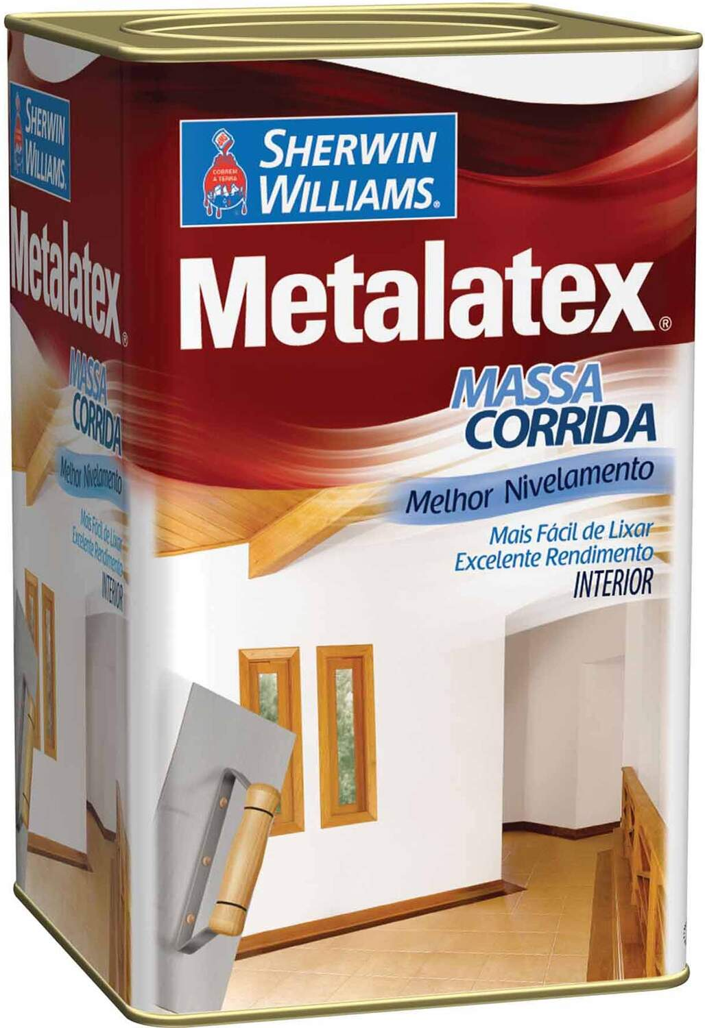 Massa Corrida 18 Litros - Sherwin Williams