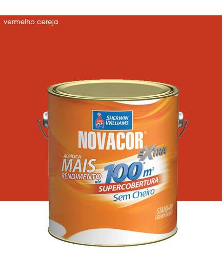 Tinta Novacor Extra Acrílica 3,6 Litros - Sherwin Williams
