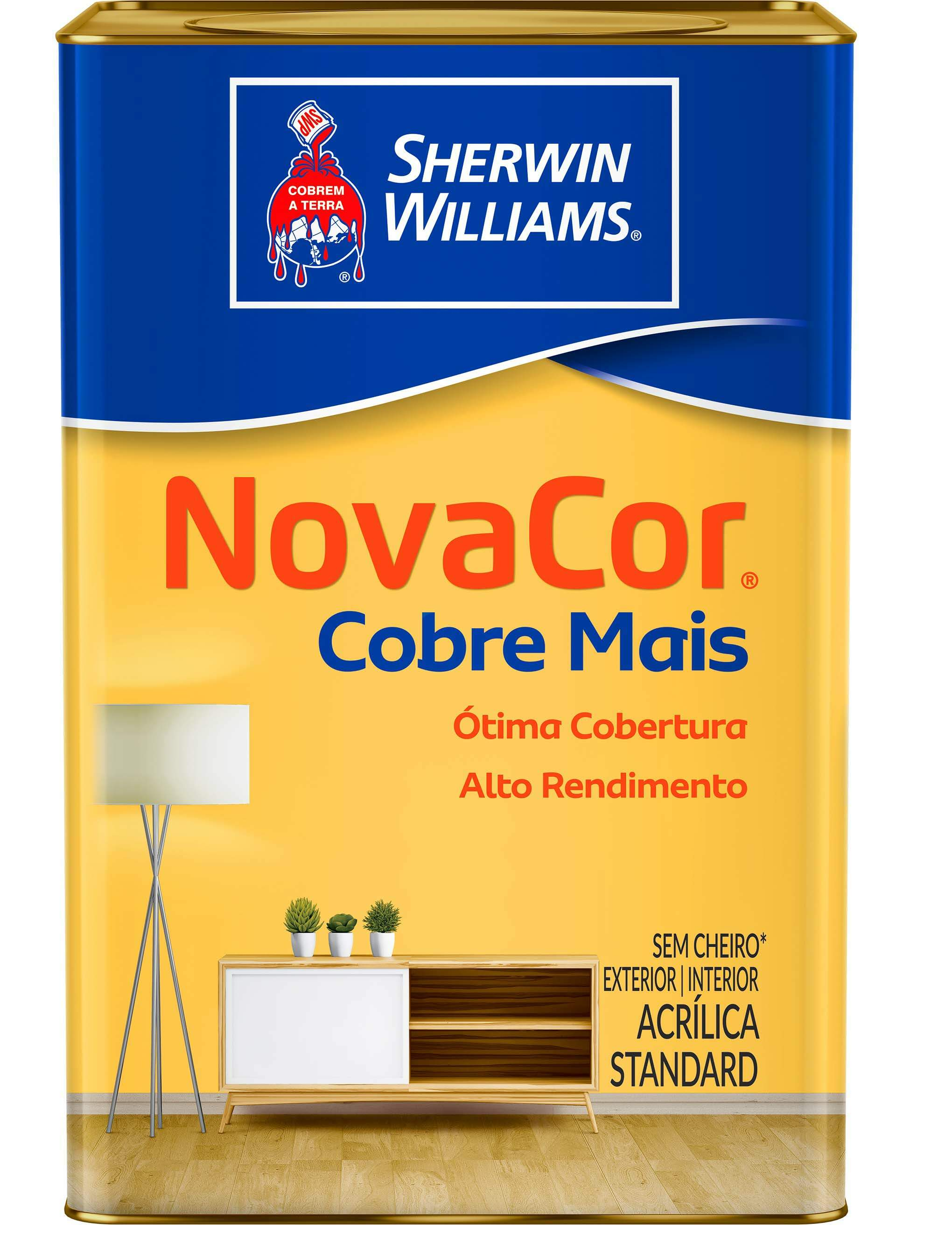 Tinta Novacor Extra Acrílica 18 Litros - Sherwin Williams