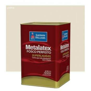 Tinta Acrílica Metalatex Fosco 18 Litros - Sherwin Williams