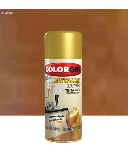 Spray Metallik Interior 350ml - Colorgin