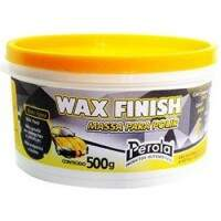 Massa de Polir Base Água Wax Finish 500g - Pérola