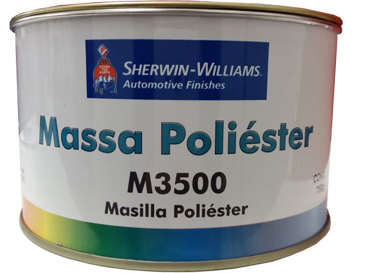 Massa Poliéster M3500 Kit 750g Lazzuril - Sherwin Williams