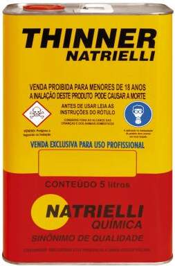 Thinner 8116 5 Litros - Natrielli