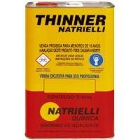 Thinner 8100 5 Litros - Natrielli