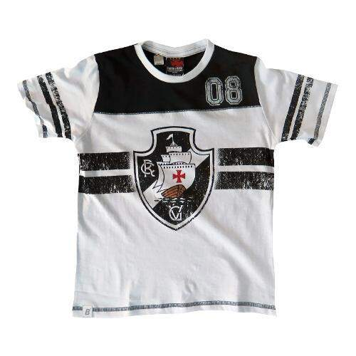 Camiseta Braziline Vasco kiddy infantil