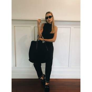 BLACK SUMMER BAG
