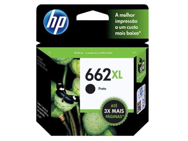 Cartucho Hp 662 Xl /662xl - Cz105ab - Preto / Black - Original - (6,5 Ml)