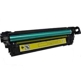 Toner Hp Ce 252 a / Ce 252a / Ce252a - Amarelo / Yellow - Remanufaturado (7 K)