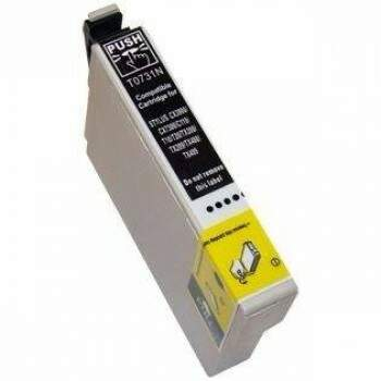 Cartucho Epson To 73120 / To 73 120 / To73120 / To 73n120 / To 73n 120 - Preto / Black Compatível (14 Ml)