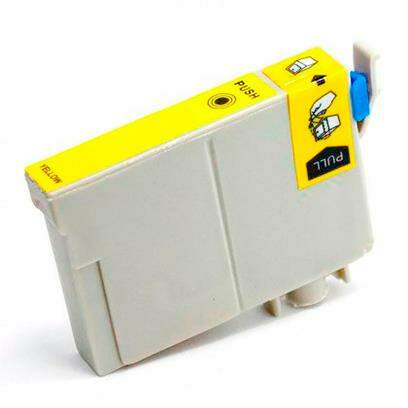 Cartucho Epson To 73n 420 / To73n420 / To73420 / To 73n420 / To 73420 - Amarelo / Yellow - Compatível (14 Ml)