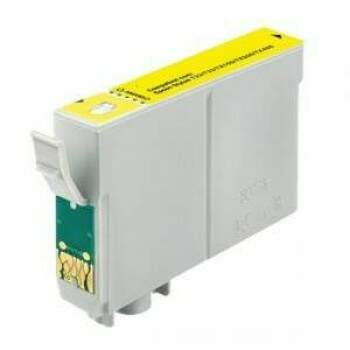 Cartucho Epson To 133 420 / To133420 / To133 420 - Amarelo / Yellow - Compatível