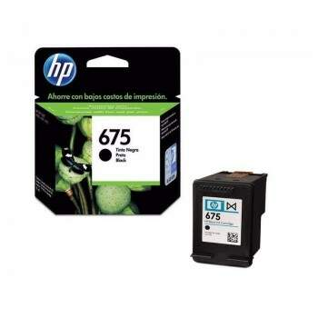 Cartucho Hp 675 - Cn690al / Cn690 Al - Preto / Black - Original - (13,5 Ml)