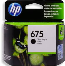 Cartucho Hp 675 - Cn690a - Preto / Black - Remanufaturado (15 Ml)