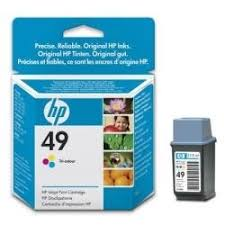 Cartucho Hp 49 - 649a - 649 a - 51649a - 51649 a - Original (22,5 Ml)