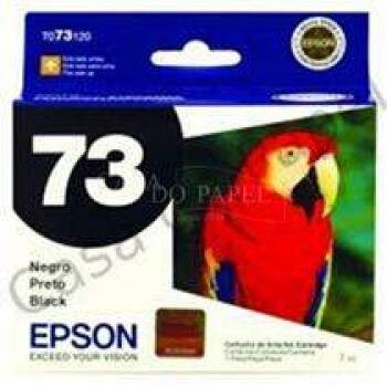 Cartucho Epson To73120 / To 73n / To 73120 - Preto / Black - Original (7 Ml)