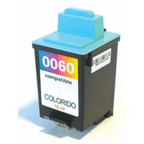 Cartucho Lexmark 60 - 17g0060 - Color - Remanufaturado - (12 Ml)