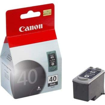 Cartucho Canon Pg 40 / Pg40 - Preto / Black - Original (16 Ml)