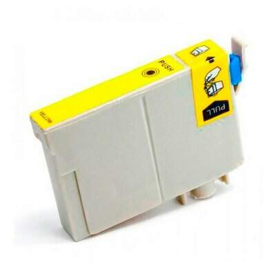 Cartucho Epson To 82 / To82420 / To 82 420 - Amarelo / Yellow - Compativel (16 Ml)