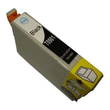 Cartucho Epson To 90 120 / To90120 - Preto - Compativel (15 Ml)