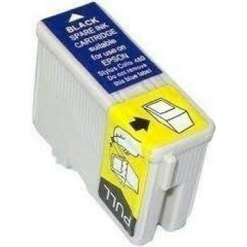 Cartucho Epson To 17 - To17 - To17301 - Preto - Compativel - (18 Ml)
