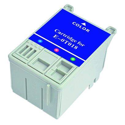 Cartucho Epson To 18 - To18 - To18301 - Color - Compativel (37,5 Ml)