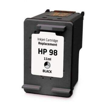Cartucho Hp 98 - C9364 - Preto - Remanufaturado (14 Ml)