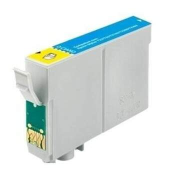 Cartucho Epson To 482 20 - To48220 - Azul / Cyan / Ciano - Compativel - (17 Ml)