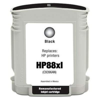 Cartucho Hp 88 Xl- 88xl - C9396al - Preto / Black - Compativel - (58,5 Ml)