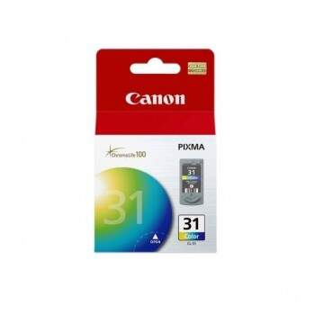 Cartucho Canon Cl31 - Cl 31 - Color / Colorido - Remanufaturado (11 Ml)