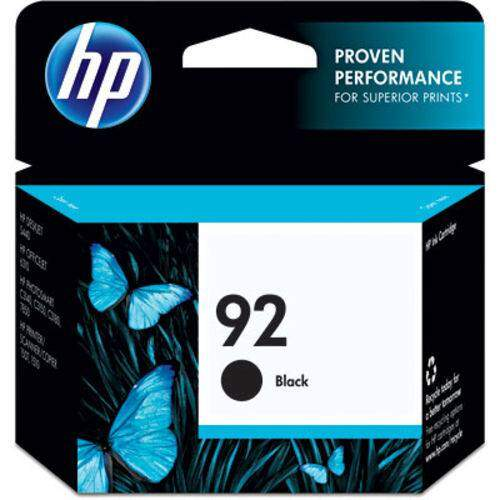 Cartucho Hp 92 - C9362 / c 9362 - Preto - Original (5,5 Ml)