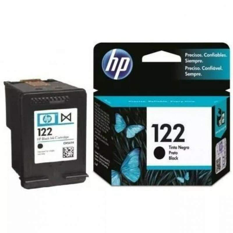 Cartucho Hp 122 - Ch561hb / Ch 561hb - Preto / Black - Original (2 Ml)