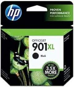 Cartuchos Hp 901 Xl / 901xl - Cc654ab - Preto / Black - Original (15.5 Ml)