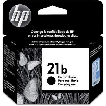 Cartucho Hp 21 b / 21b - C9351bb / c 9351bb - Preto / Black Original (5 Ml)