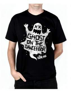 Camiseta Ghost On The Dancefloor Preta