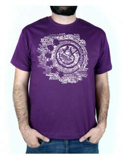 Camiseta Smile Songs Roxo