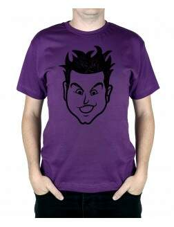 Camiseta Mark Old School Roxo
