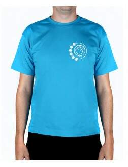 Camiseta Smile Xesty Turquesa