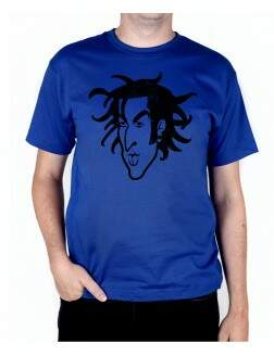 Camiseta Travis Old School Azul