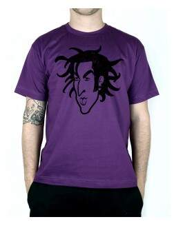 Camiseta Travis Old School Roxo