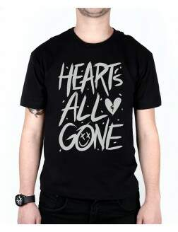 Camiseta Hearts All Gone Preta