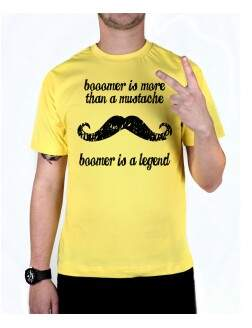 Camiseta Boomer Is A Legend Amarela