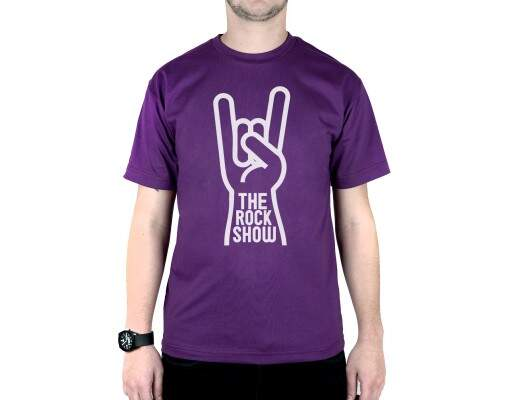 Camiseta The Rock Show Roxo