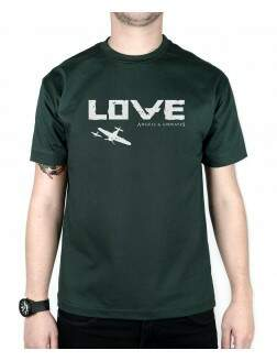 Camiseta Love Part 2 Musgo