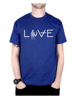 Camiseta Love Azul