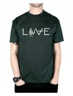 Camiseta Love Musgo