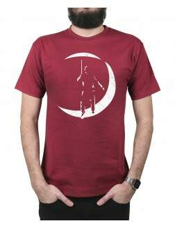 Camiseta The Poet Vinho